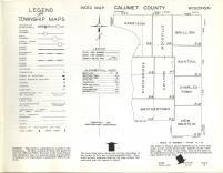 Index Map, Calumet County 1961